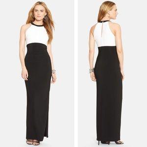 Ralph Lauren Formal Dress B/W